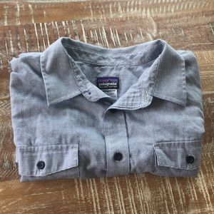 Patagonia long sleeve button down shirt